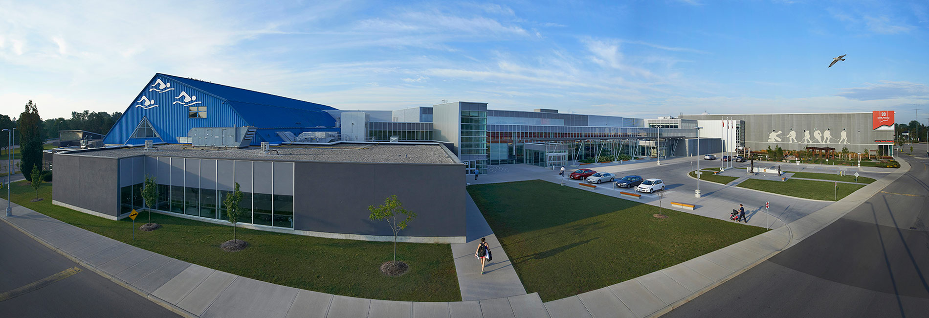 Wayne Gretzky Sports Centre Facility overview